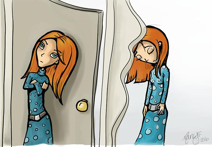 Traverser la porte du jugement de lautre et voir reellement